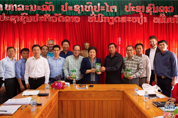 Lao PDR Minister to PMO visits NEPL